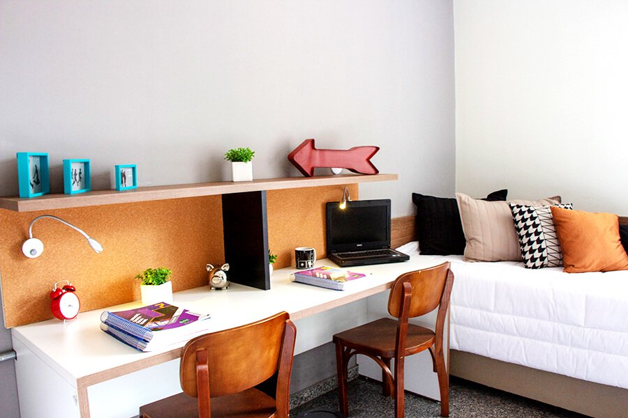 Apartamento mobiliado no Uliving Student Housing